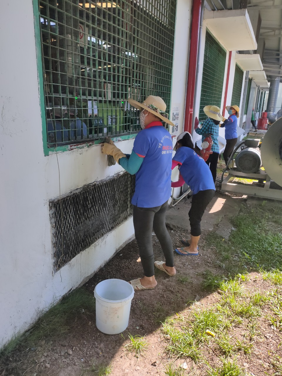 Dịch vụ vệ sinh hàng ngày quận 6