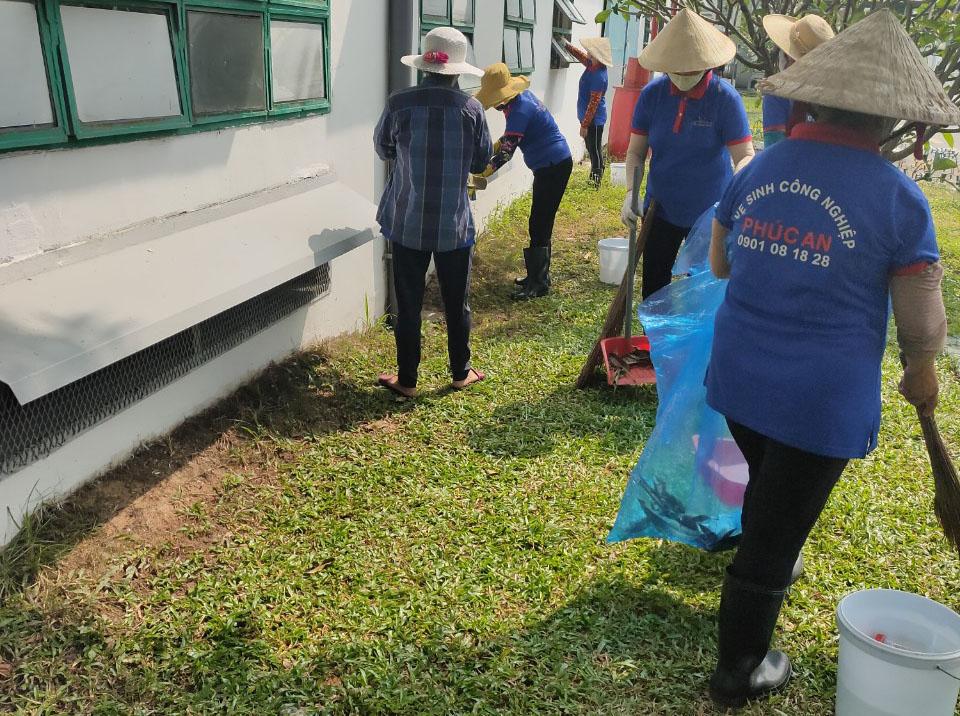 Dịch vụ vệ sinh hàng ngày quận 9