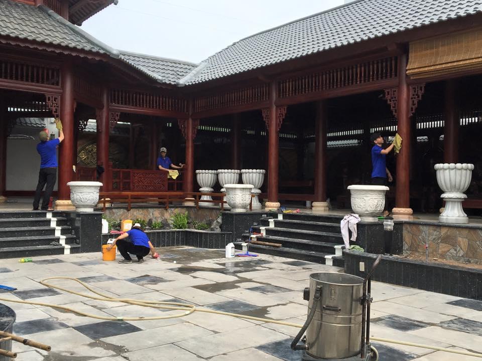 Vệ sinh nhà quận Phú Nhuận
